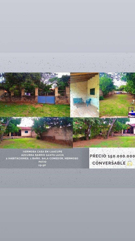 Casa en Caacupé Barrio Santa Lucia - 0