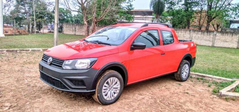 VW saveiro robust cero km doble cabina - 0