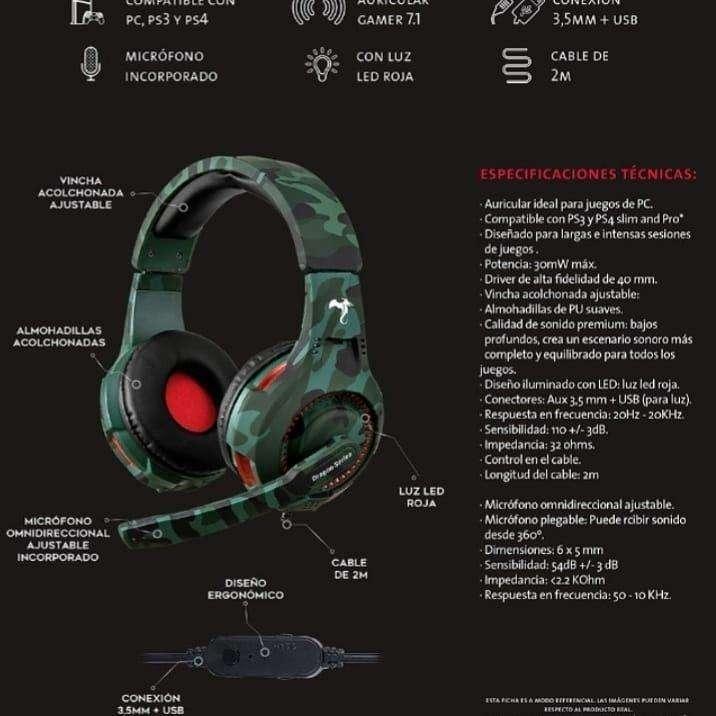 Auricular Gamer Kolke 450 - 1