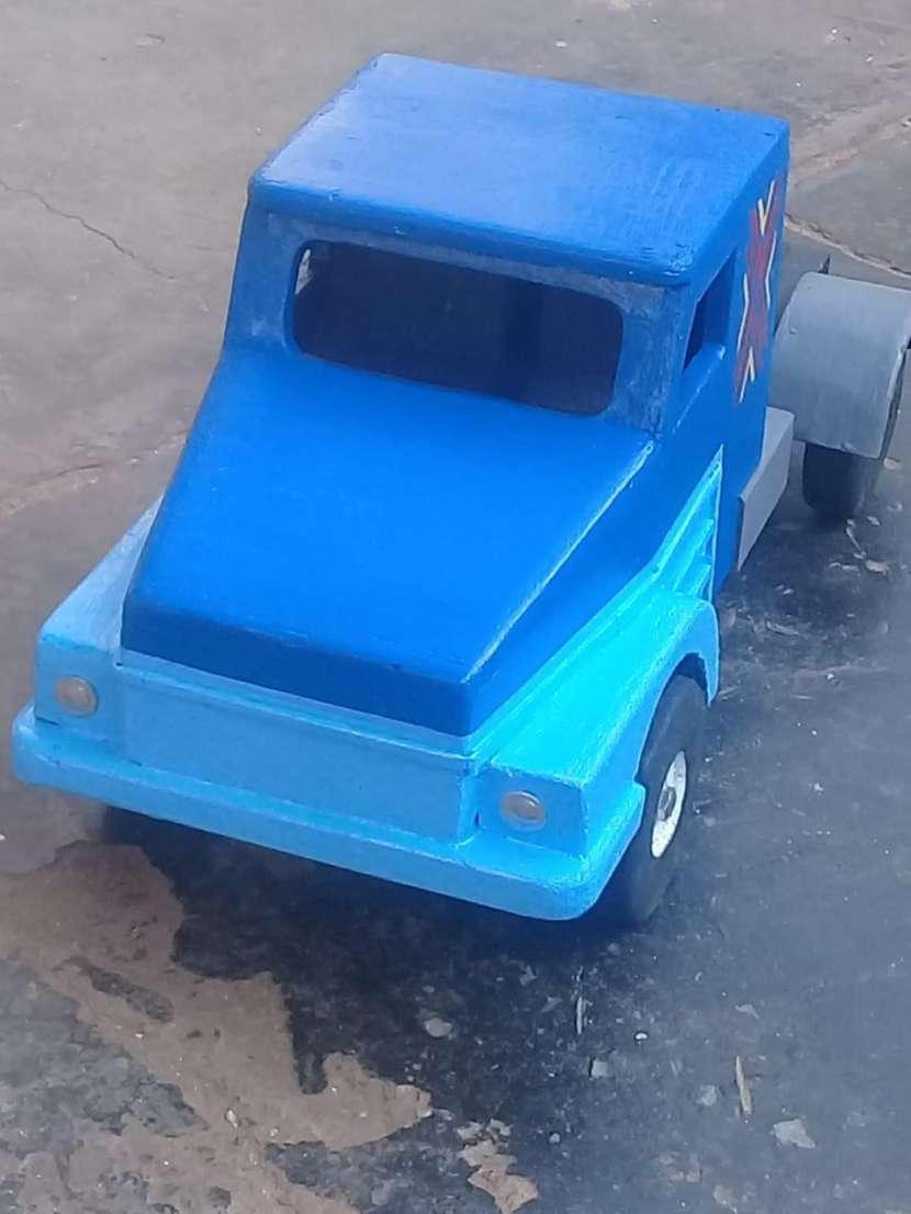 juguete Camión de carga de madera - 2