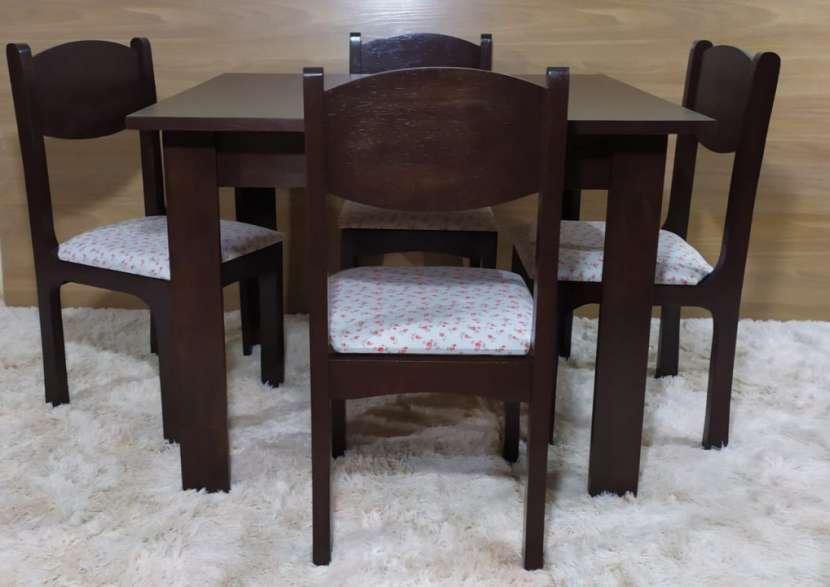 Juego de comedor Florida 4 sillas - 1
