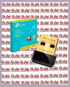 Nano usb adaptador de wifi tp- link wn725n