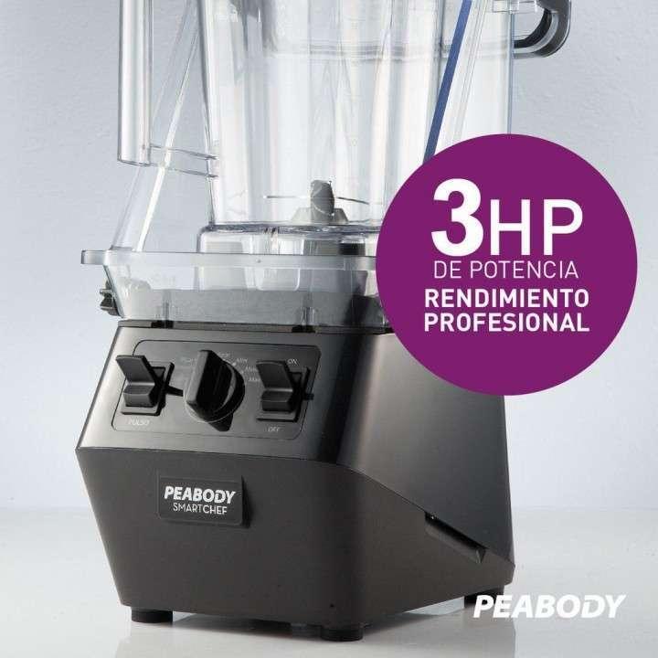 Licuadora profesional Peabody 2.200W - 2