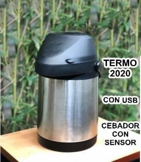 Termo moderno con usb cebador con sensor