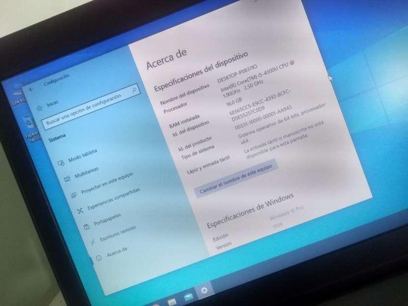 Notebook Toshiba 14 Pulgadas i5 16 GB RAM 240 GB SSD - 4