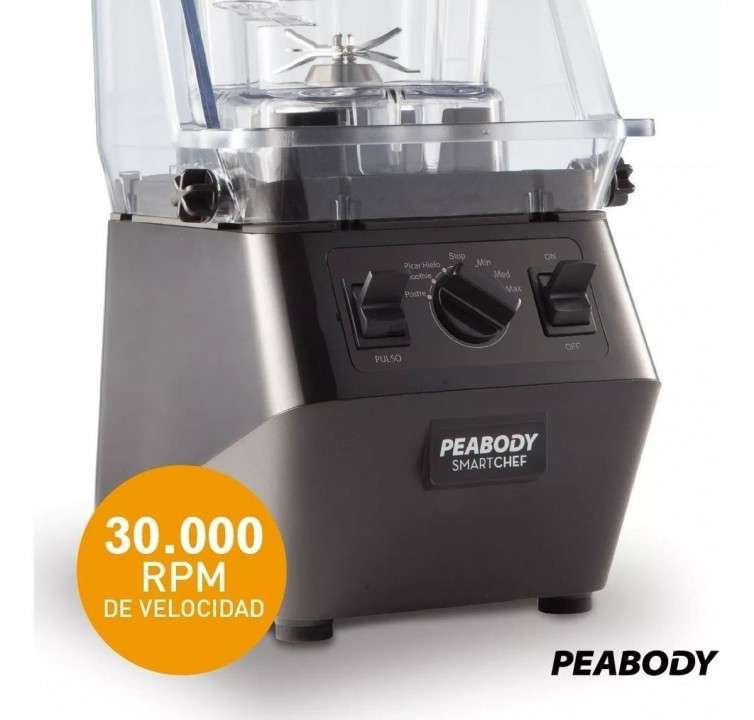 Licuadora profesional Peabody 2.200W - 3