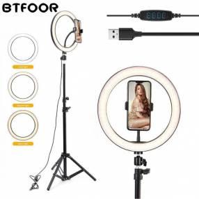 Aro LED con trípode de 2 metros