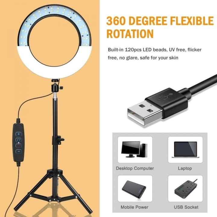 Aro LED con trípode de 2 metros - 1