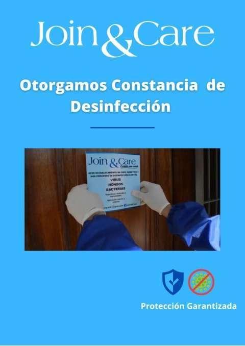 Desinfección de superficies y ambiente - 1
