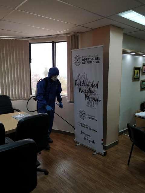 Desinfección de superficies y ambiente - 3