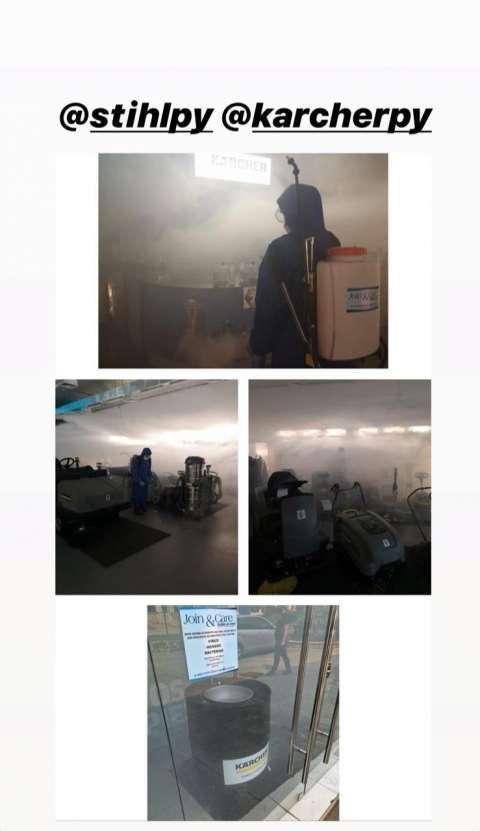 Desinfección de superficies y ambiente - 5