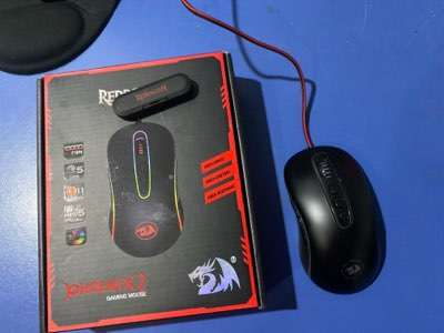 Red dragon phoenix 2 gaming mouse - 0
