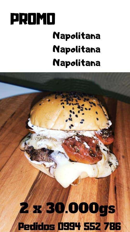Burguer Napolitana - 0
