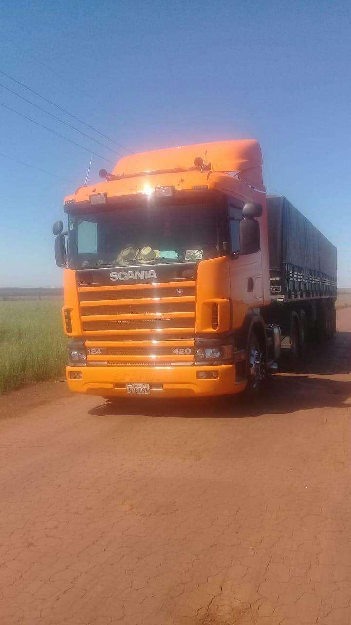Scania 124l 420 2000 - 0