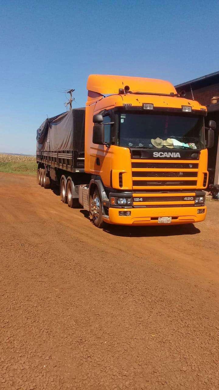 Scania 124l 420 2000 - 1