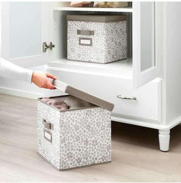 Caja organizadora con tapa 30x30x30 cm Storstabbe - 1