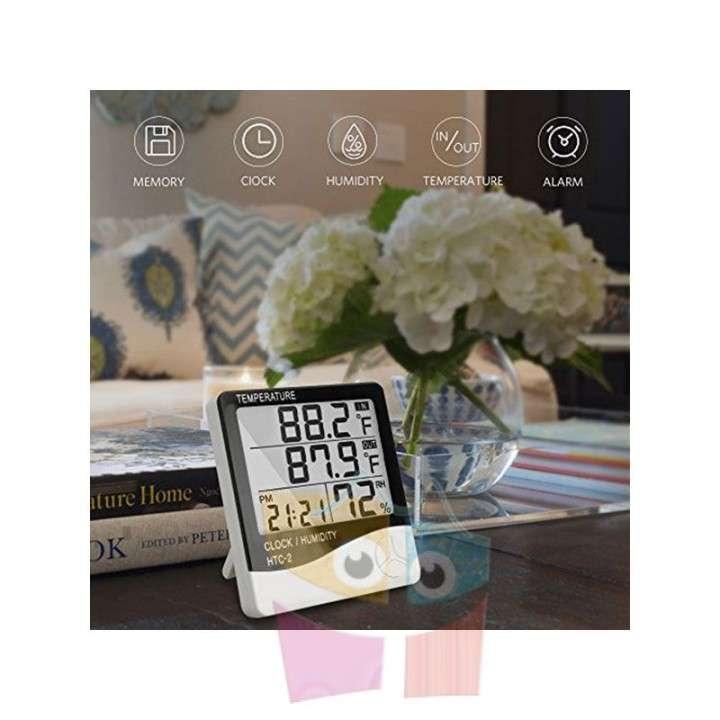Termohigrómetro Digital LCD con sonda Pro Instruments - 4
