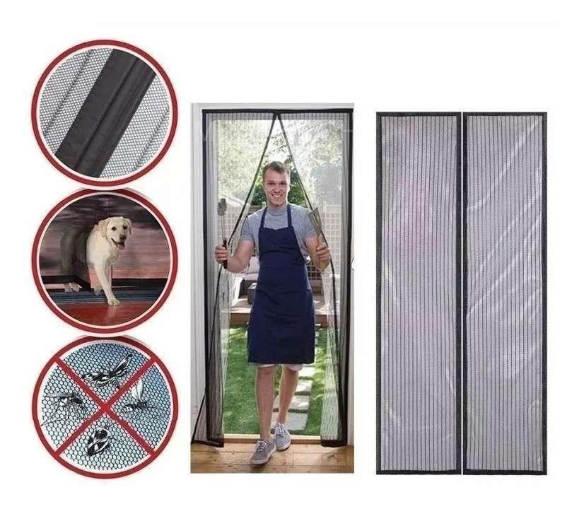 Mosquitero para puerta autoadhesivo magnético 1x2m - 1