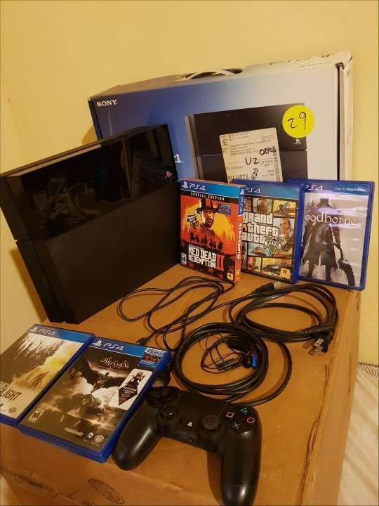 PS4 500 gb con juegos - 5