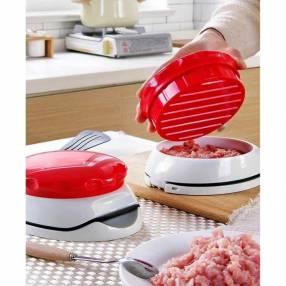 Prensa ajustable manual para hamburguesas