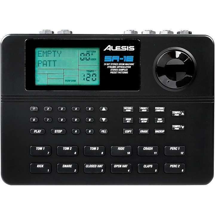 Alesis SR 16 Drum Machine - 0