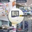 Termohigrómetro Digital LCD con sonda Pro Instruments - 2