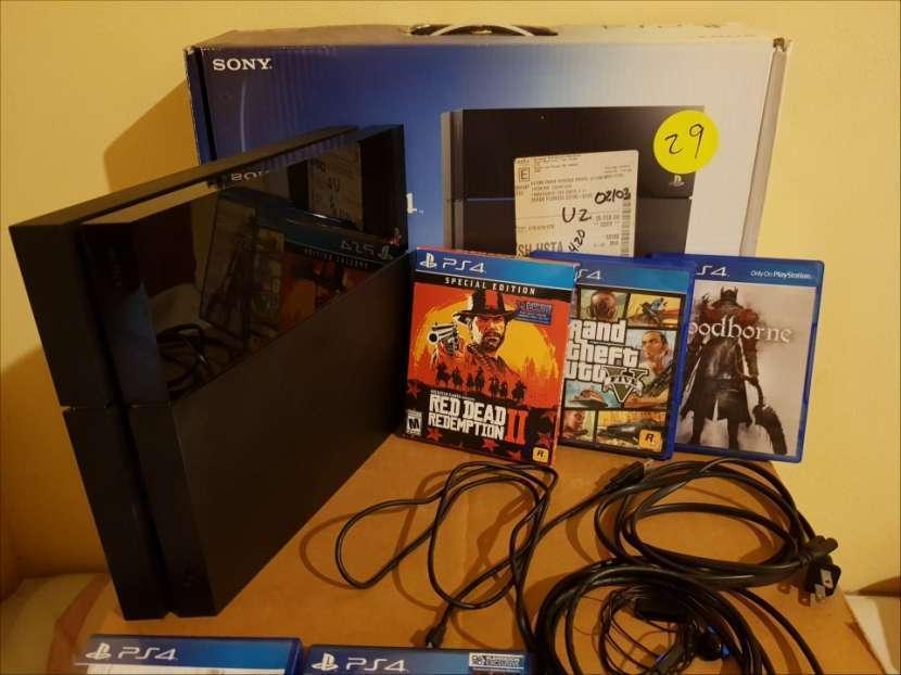 PS4 500 gb con juegos - 4