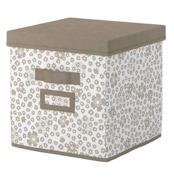 Caja organizadora con tapa 30x30x30 cm Storstabbe - 0