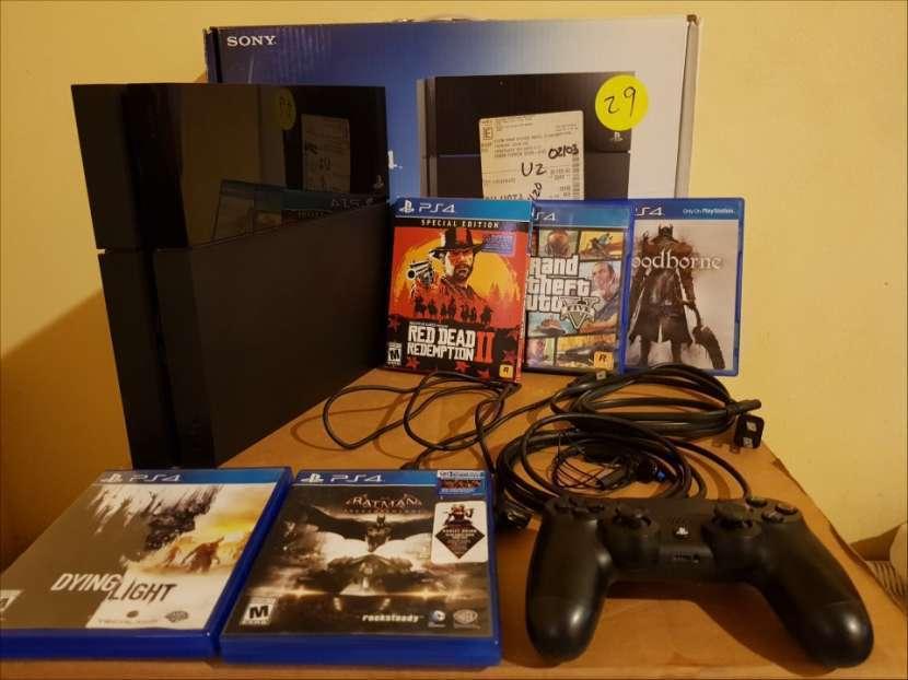 PS4 500 gb con juegos - 1