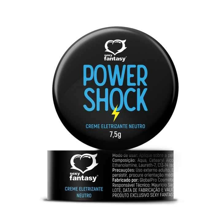 Gel electrizante Power Shock crema vibrador pomada 7,5 gramos - 0