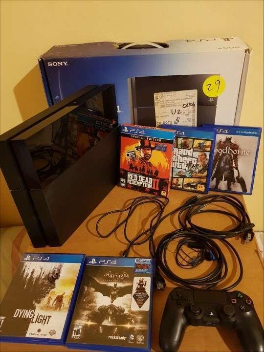 PS4 500 gb con juegos - 3