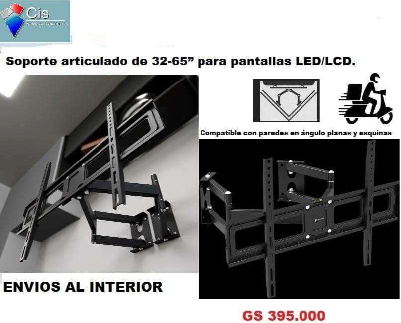 Soporte articulado 32 a 65 para pantallas LED/LCD - 0