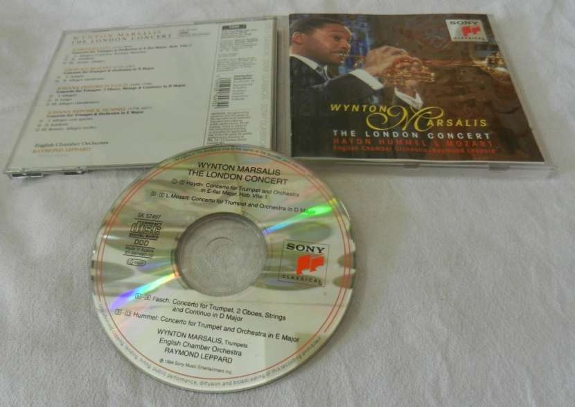 Wynton Marsalis London Concert CD Original - 2