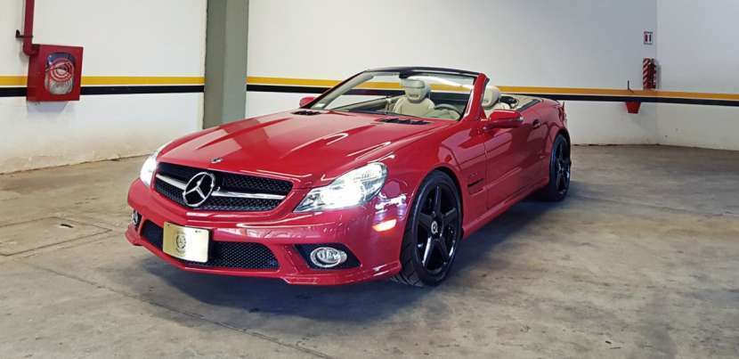 Mercedes Benz SL 550 - 0
