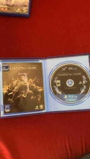 Sombras de guerra para PS4