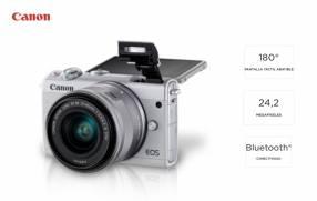 Cámara Canon EOS M100 Kit 15-45mm.