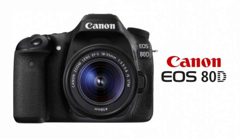 Cámara Canon EOS 80D Kit 18-55mm - 0