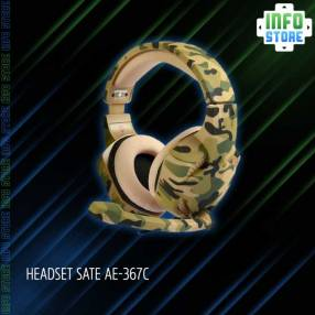 Headset SATE AE-367C Camuflaje