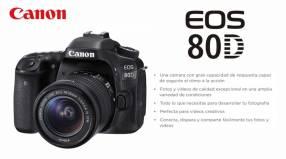 Cámara Canon EOS 80D