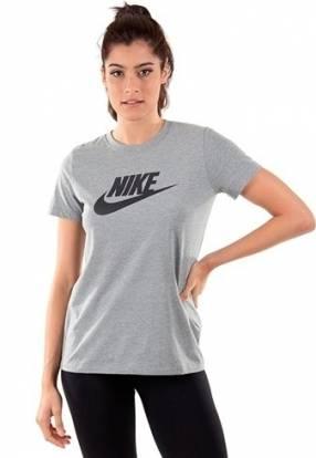 Remera Nike Gris para dama