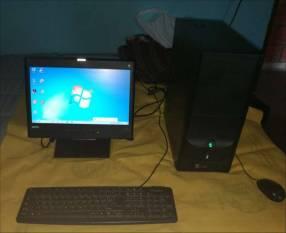 Computadora y router