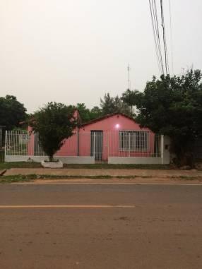 Casa titulada en Coronel Oviedo