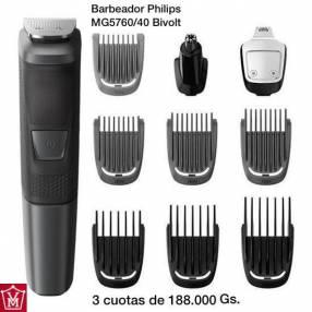 Barbeador Philips con cambios