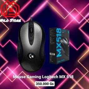 Mouse gamer Logitech mx518