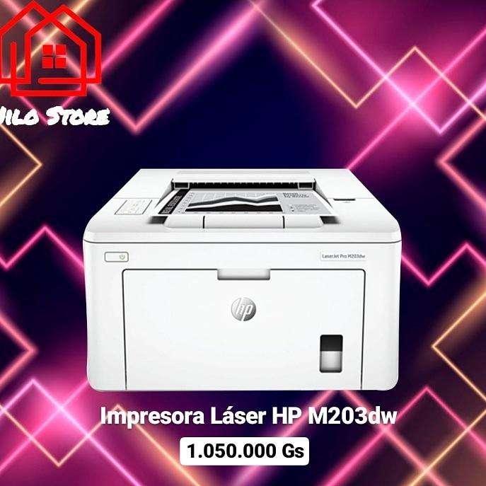 Impresora láser hp m203dw - 0