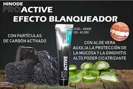Gel blanqueador dental con carbón activado - 3