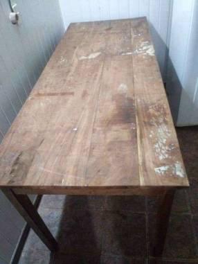 Mesa para trabajo de madera pura