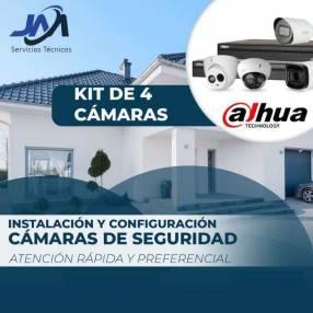 Instalación de cámara Dahua 720 HD