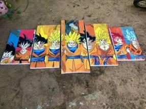 Cuadro de Dragon Ball