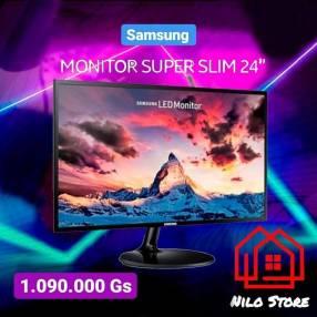 Monitor Samsung curvo 24 pulgadas f390